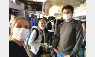 """Drie vrienden die vastzaten in Bolivië veilig thuis: """"De ambassade heeft goed werk verricht"""""""
