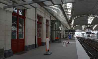 Loketten in station Leuven afgesloten én gedesinfecteerd na hoestbui