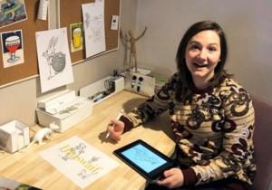 """Leerkracht Jolien tekent kleurplaten voor kinderen die zich vervelen: """"Ik wil hen gelukkig maken met mijn tekeningen"""""""