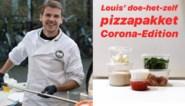 """Louis levert doe-het-zelfpizza aan huis: """"Lang getest om tot beste resultaat te komen"""""""