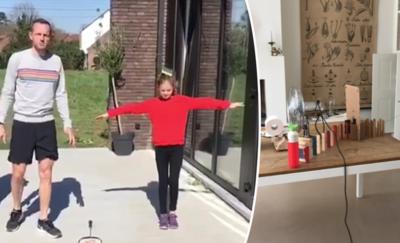 Tips voor ouders: probeer niet te vallen, tenzij met kinetische kunst