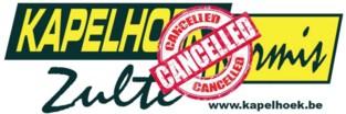 Kapelhoekkermis gaat niet door