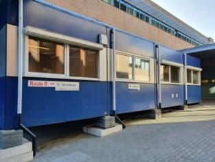 UZ Gent houdt Covid-19-patiënten gescheiden via nieuwe 'containerkliniek'