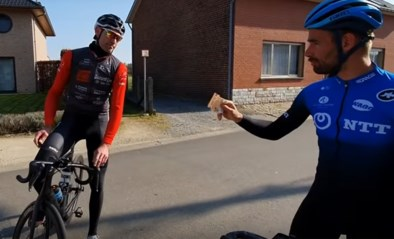 """Victor Campenaerts beloont flinke wielertoerist met briefje van 50 euro: """"Ik ga dit nog herhalen"""""""