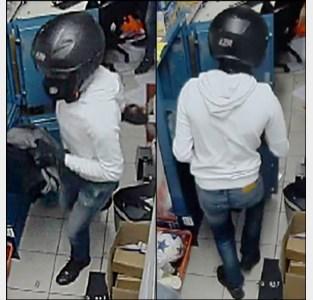 Negen maanden na overval op Kruidvat zit onderzoek muurvast: gerecht op zoek naar overvaller met helm