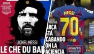 Plots wordt Lionel Messi nu ook de Che Guevara van Barcelona genoemd