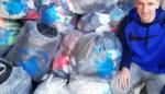 School GO! Centrum zamelde 100 zakken afgedankte kledij in