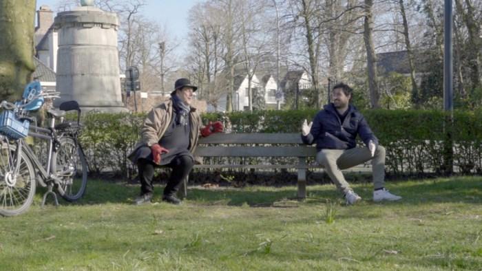 """Joris Hessels laat zien hoe 'zijn' Gentbrugge omgaat met corona: """"Een troosteloos dorp krijg je niet te zien"""""""