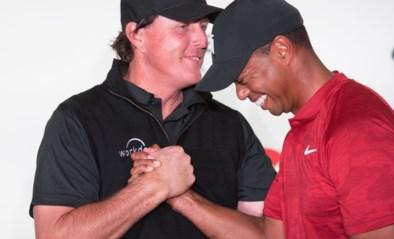 Woods en Mickelson krijgen gezelschap van NFL-legendes Manning en Brady in The Match 2