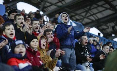 """Enkel in Wit-Rusland wordt nog gevoetbald, maar de fans roepen op tot boycot: """"Ga niet naar het stadion"""""""