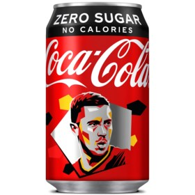 Geen EK 2020, maar Coca-Cola pakt toch uit met… Hazard-blikjes