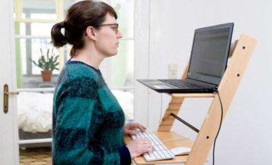 Thuiswerken voor beginners: hoe een strijkplank of kinderstoel je rug kunnen redden