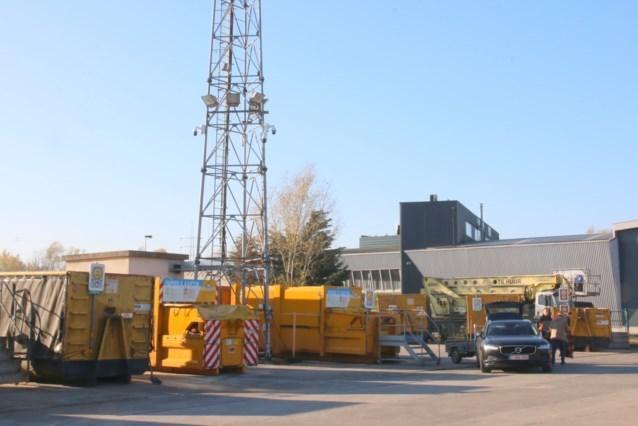 Heropening recyclagepark Stapsteenweg wordt grondig voorbereid