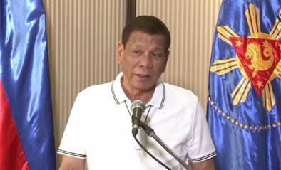 """Filipijnse president zal onverbiddelijk optreden tegen al wie lockdown niet respecteert: """"Schiet ze dood"""""""