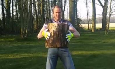 """Bondsprocureur Kris Wagner reageert op eigenzinnige wijze op ontslag: """"Hierbij een filmpje waarin ik een blok hout splijt"""""""