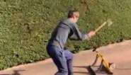 Mikel Landa heeft het al helemaal gehad met trainen op de rollen en neemt drastische maatregelen