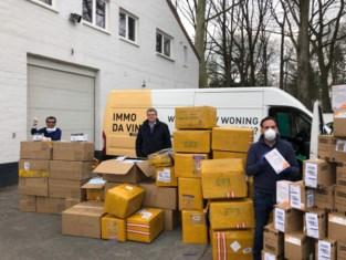 """Ondernemers halen 100.000 mondmaskers naar Gent: """"Komen er nog 500.000"""""""
