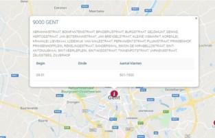 Tot 1.500 gezinnen uur zonder stroom in Gent