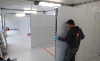 Creaplan stelt twee kilometer mobiele wanden ter beschikking van ziekenhuizen en zorgcentra