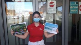 Leerlingen Verzorging maken 'Warme Boekjes' voor woon-zorgcentra in de buurt