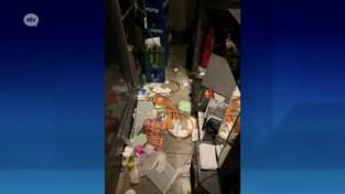 Inbreker veroorzaakt totale ravage in populair danscafé... nadat hij er enkele dagen zijn intrek had genomen