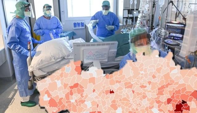 Aantal coronapatiënten blijft toenemen, maar vier gemeenten houden besmettingen opvallend laag