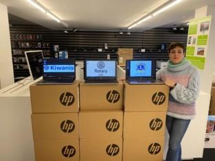 Lierse Serviceclubs schenken scholen 50 laptops