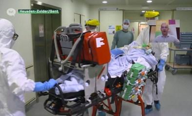 Coronapatiënt aan de beademing van Heusden-Zolder naar ziekenhuis Gent gebracht