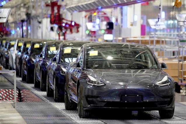 Tesla levert te midden van coronapandemie meer auto's af