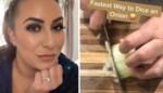 Vrouw deelt trucje om snel en zonder één traan te laten uien te snijden