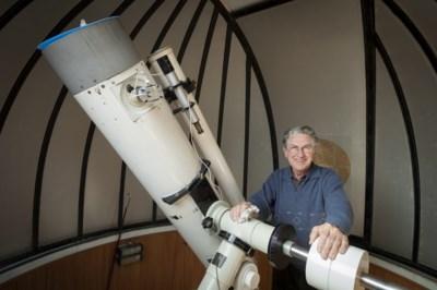 'Peetvader van astronomie' Hubert (89) bestudeerde heel zijn leven die andere corona rond de zon, maar de ziekte werd hem fataal