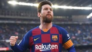 Privéjet van voetbalster Lionel Messi moest noodlanding maken op Zaventem