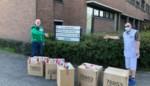 SK Grembergen geeft koeken aan bewoners Sint-Antonius