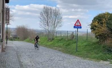 Normaal was de wielertoerist zaterdag koning, nu ogen Vlaamse Ardennen opvallend leeg