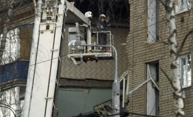 Appartementsgebouw bij Moskou ingestort na gasexplosie