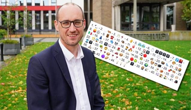 Hoe cool! Burgemeester De Pinte maakt lokale emoticon-rebus voor zijn inwoners