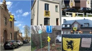 Geel eerbetoon voor overleden dorpsfiguur