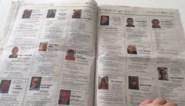 Triest record: weekendkrant Het Belang van Limburg telt maar liefst 13 pagina's met overlijdensberichten