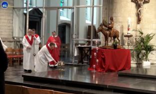 Eucharistie ook de komende zondagen online