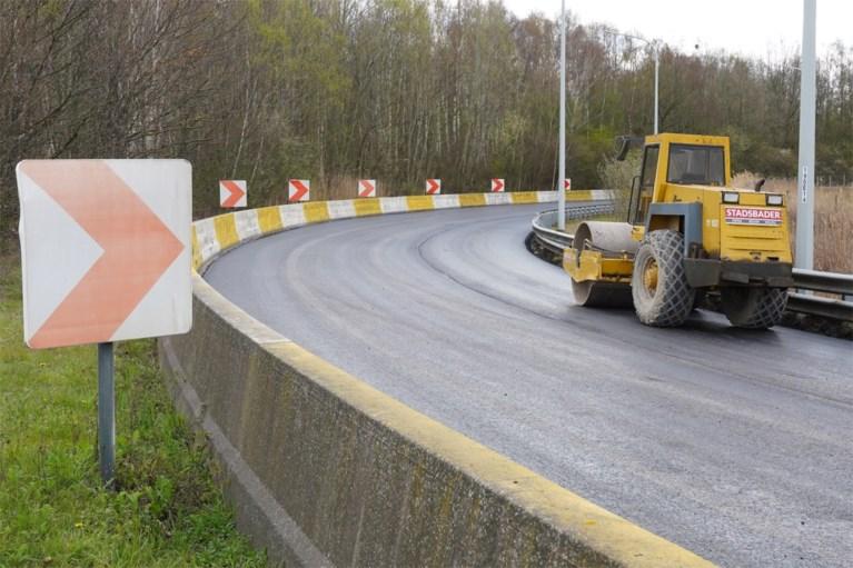 """Gelukkig kan dit nu er minder verkeer is"""
