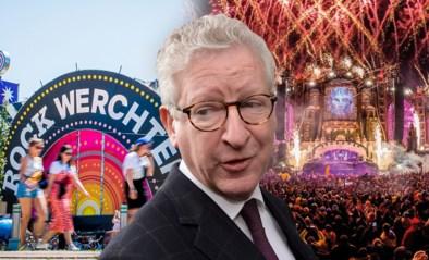 """Minister De Crem: """"Grote zomerfestivals als Tomorrowland en Rock Werchter worden waarschijnlijk geannuleerd"""""""