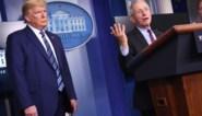 Gepikeerde Trump laat Fauci niet antwoorden op vraag over vermeend coronamedicijn