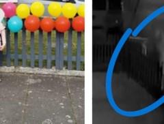Harteloze dief steelt ballonnen van meisje dat verjaardag viert tijdens lockdown