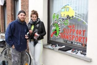 Tatoeëerders Yannick Van Ginneken en Melni Sikorski brengen kleur en humor in straatbeeld
