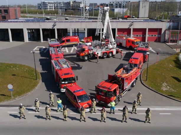 Brandweerposten Deinze en Nevele vormen hart voor zorgverleners