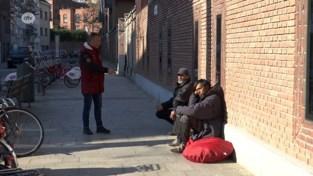 Daklozen voelen zich opgejaagd wild: