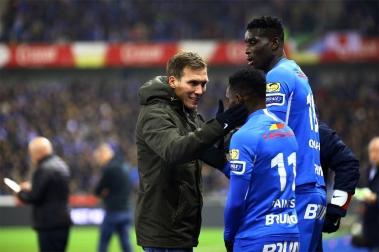 """Genk-trainer Wolf over het mislopen van Europees voetbal: """"We gaan niet klagen"""""""