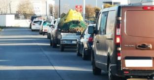 Recyclagepark heropent de deuren: stormloop 's ochtends vroeg, daarna vlot