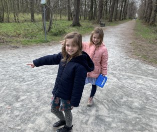 Schat en feestboekje van jarige Noélie en Mariëlle verdwijnen uit stadsbos