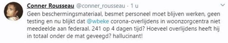 """SP.A-voorzitter haalt snoeiharde uithaal richting Wouter Beke offline: """"Hoeveel overlijdens heeft hij onder de mat geveegd?"""""""